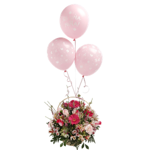 Canasta Balloon Niña