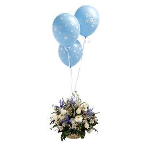Canasta Balloon Niño