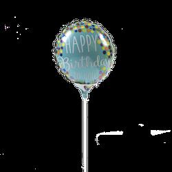 Globo Metalico #4 Cumpleaños