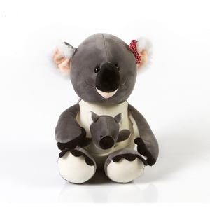 Peluche Koala Con Bebe