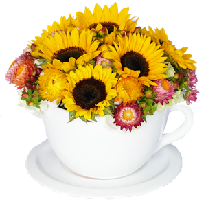 Tea Time Girasoles