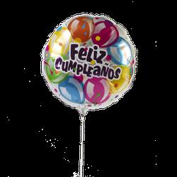 Globo Metalico #18 Cumpleaños