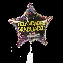 Globo Metalico #18 Graduacion