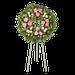 Corona Anthurios Rosados