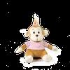 Peluche Monkey Girl