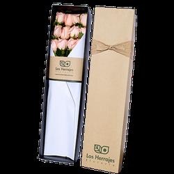 Caja Rosas Rosadas x12