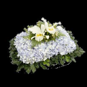 Almohadita Orquidea Blanca