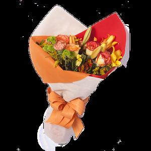 Ramo Multicolor en Naranja