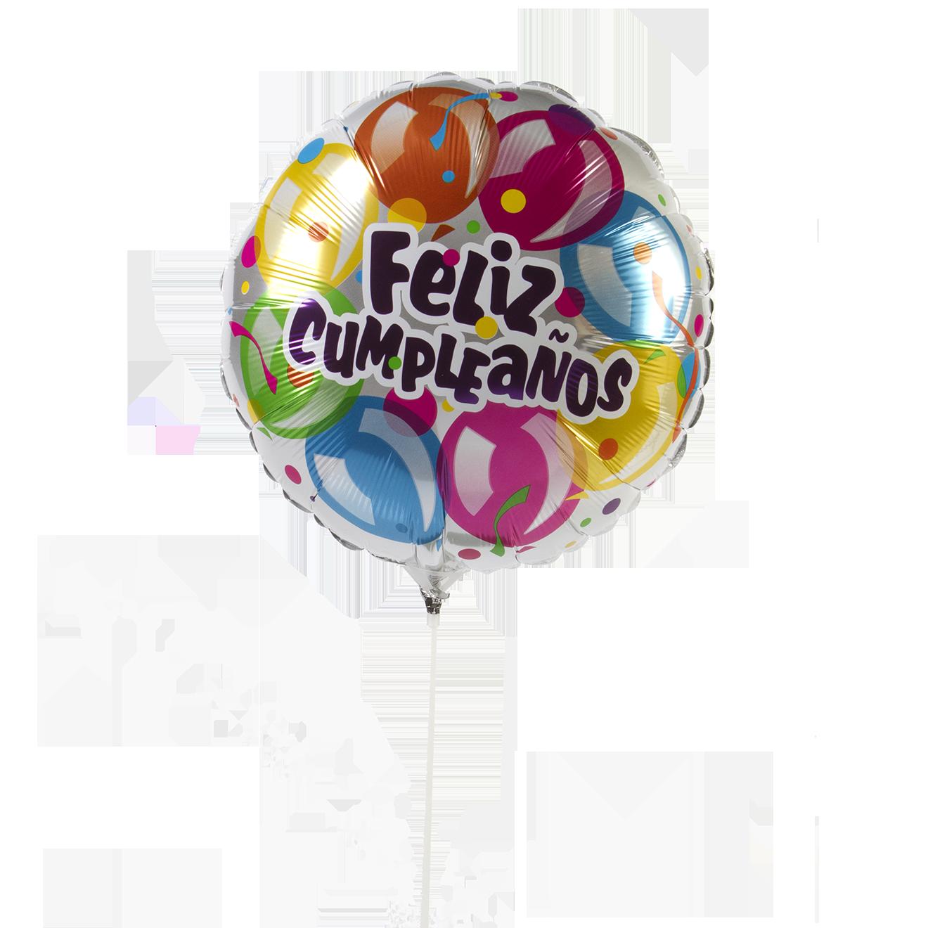 Globo Metalico #18 Cumpleaños Variado